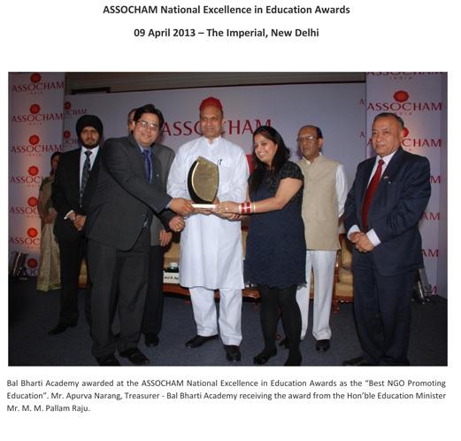 114 articles & awards bal bharti academy