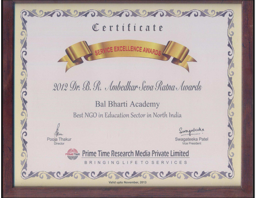 111 articles & awards bal bharti academy