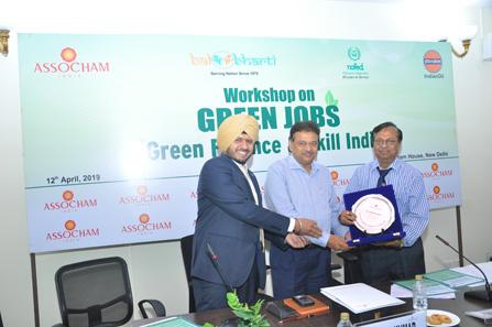 106 green jobs bal bharti academy